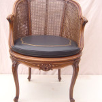 A Louis XV style Fauteuil de Bureau after