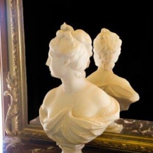 Antique Marble Bust of Diana