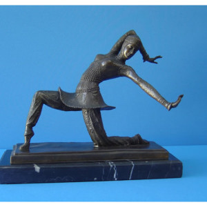 Art Deco - Bronze Dancer