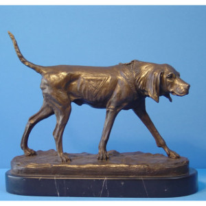 Bronze Animalier of Pointer
