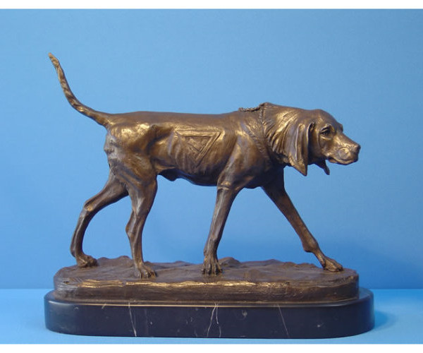 Bronze Animalier of Pointer 650X500