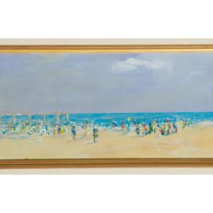 Donal Fraser - Beach scene