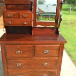 Finish dressing table small