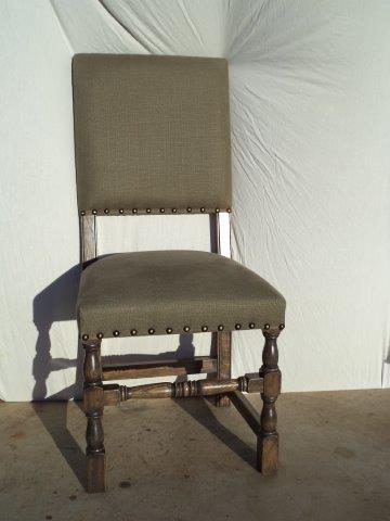 Louis XIV Dining Chair Reproduction Finish