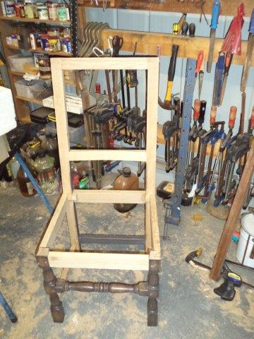 Louis XIV Dining chair Reproduction start