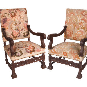 Louis XIV armchairs