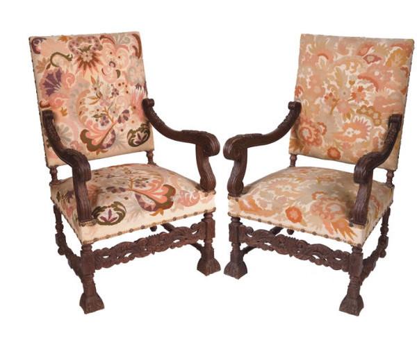 Louis XIV armchairs