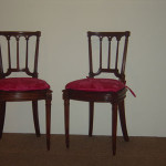 Louise XVI style chairs after