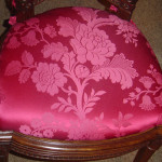 Louise XVI style chairs cushion