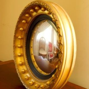 Reproduction Antique Convex Mirror