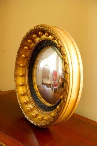 Reproduction  Antique Convex Mirror