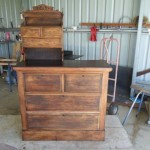 credenza in the workashop