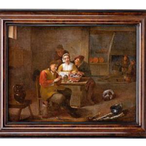 followers of David painting